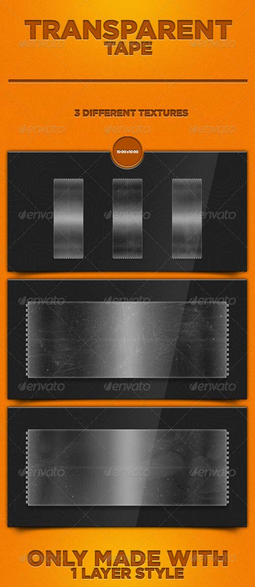 GraphicRiver Transparent Tape