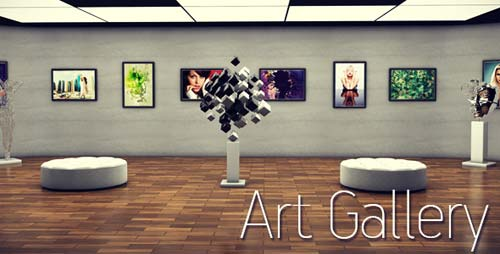 Art Gallery - After Effects Project (Videohive)