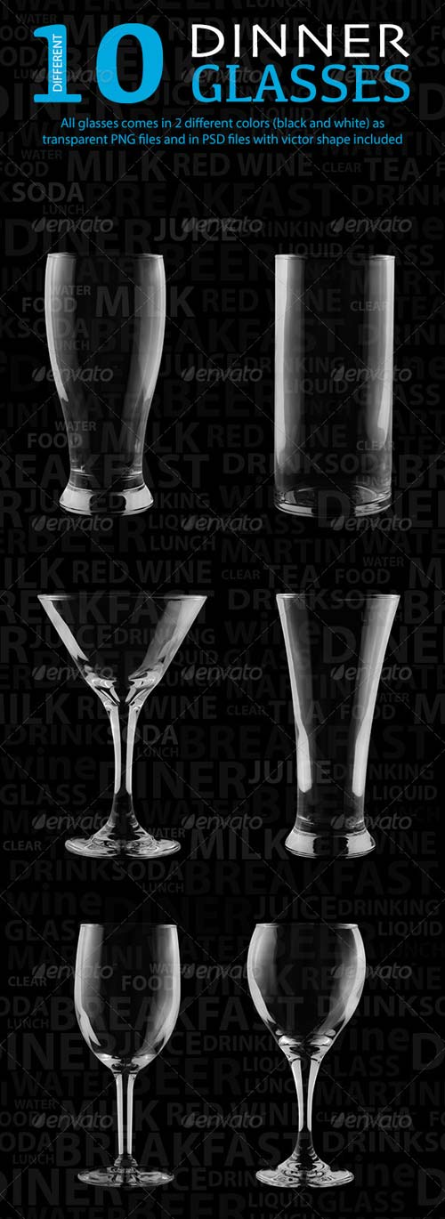 GraphicRiver Isulated Glass