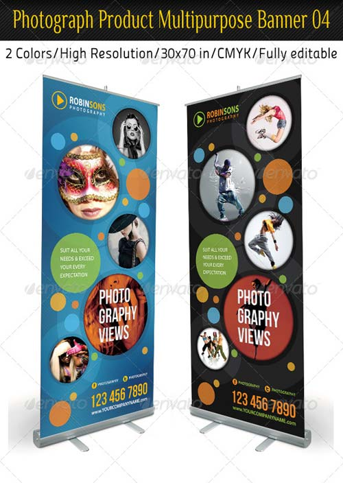 GraphicRiver Photograph Product Multipurpose Banner 04