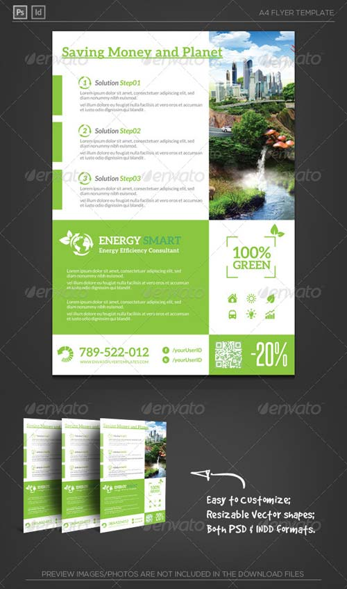 GraphicRiver Energy Smart Flyer Template