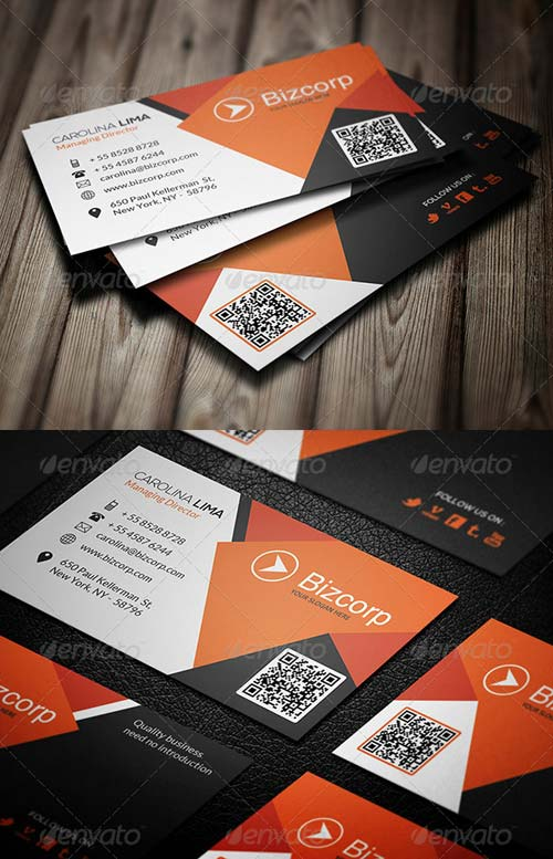 GraphicRiver Corporate Business Card 087