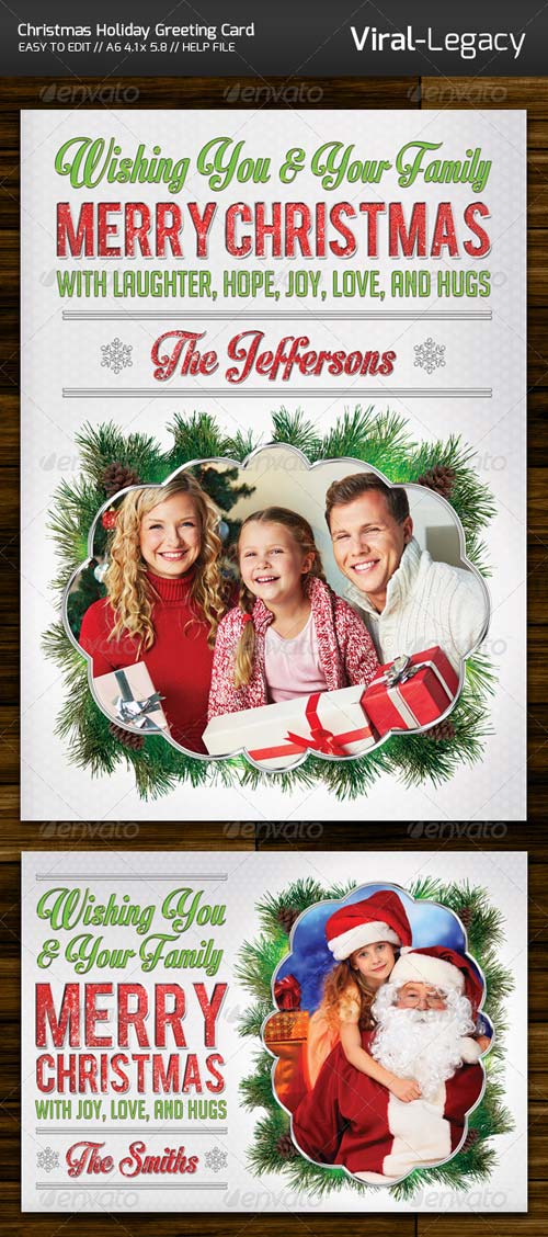 GraphicRiver Merry Christmas Greeting Card