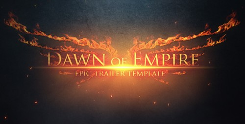 Epic Trailer - Dawn of Empire - After Effects Project (Videohive)