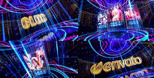 Night Club 4 - After Effects Project (Videohive)