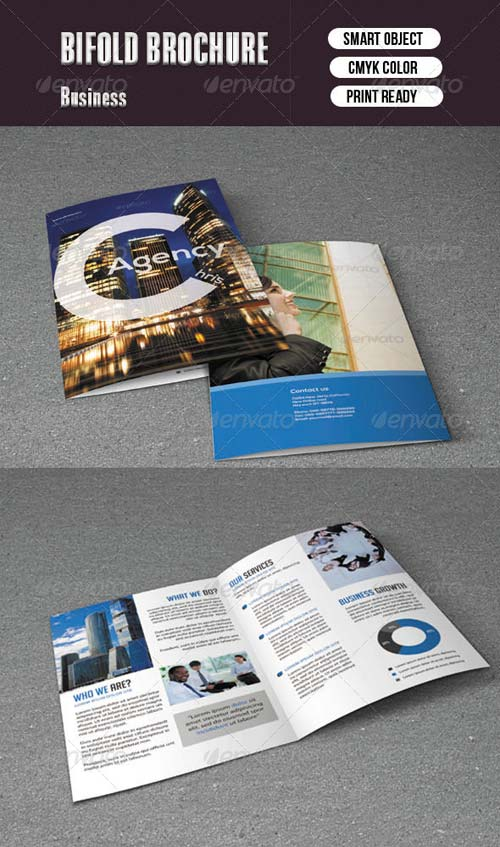 GraphicRiver Bifold Brochure For Business
