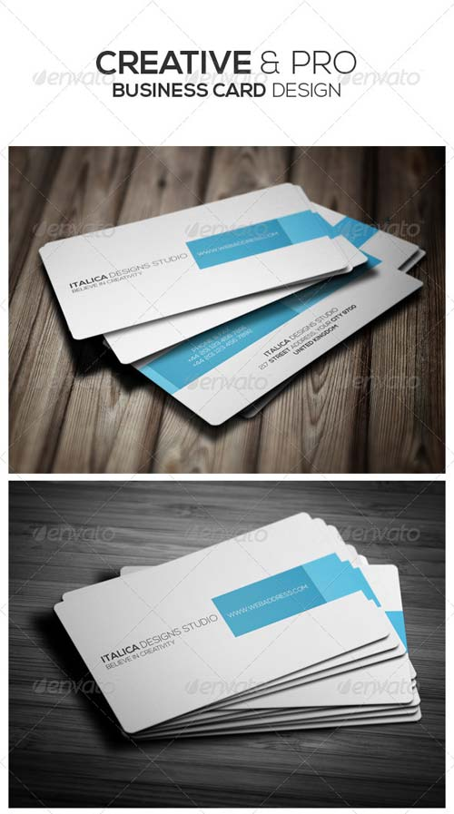 GraphicRiver Creative Business Card Design