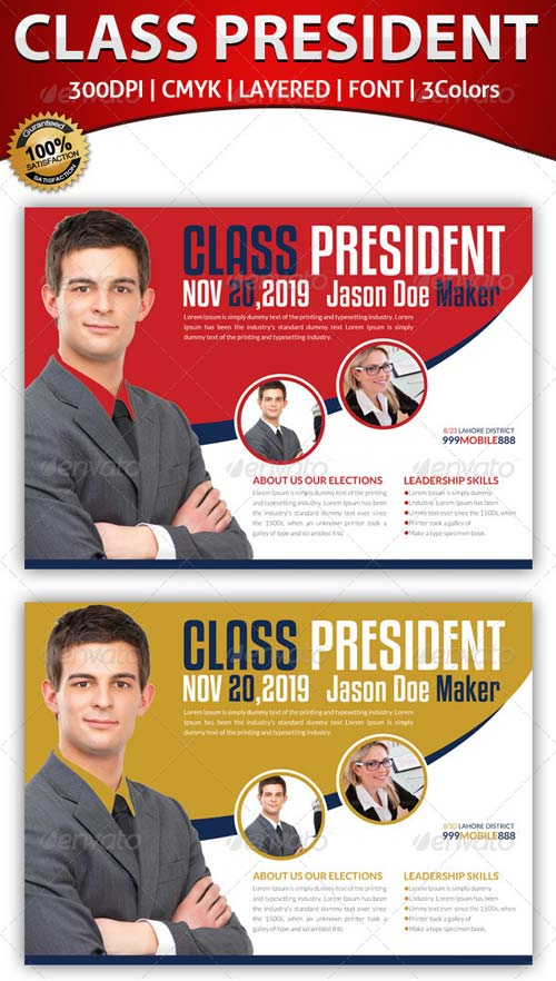 GraphicRiver Elections Flyer Template