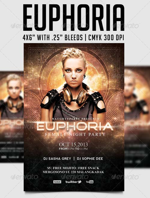 GraphicRiver Euphoria Party Template