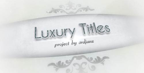 Luxury Titles Pack - After Effects Project (Videohive)
