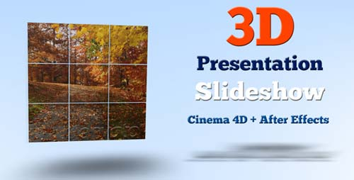 3D Presentation Slideshow - After Effects Project (Videohive)