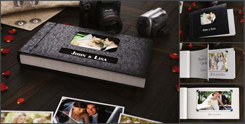 The 3D Photo Album - After Effects Project (Videohive)