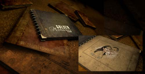 Golden Memories Album - After Effects Project (Videohive)