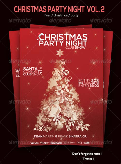 GraphicRiver Christmas Party Flyer Vol. 2