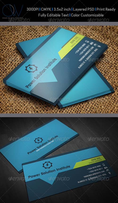 GraphicRiver Corporate Business Card Vol.40