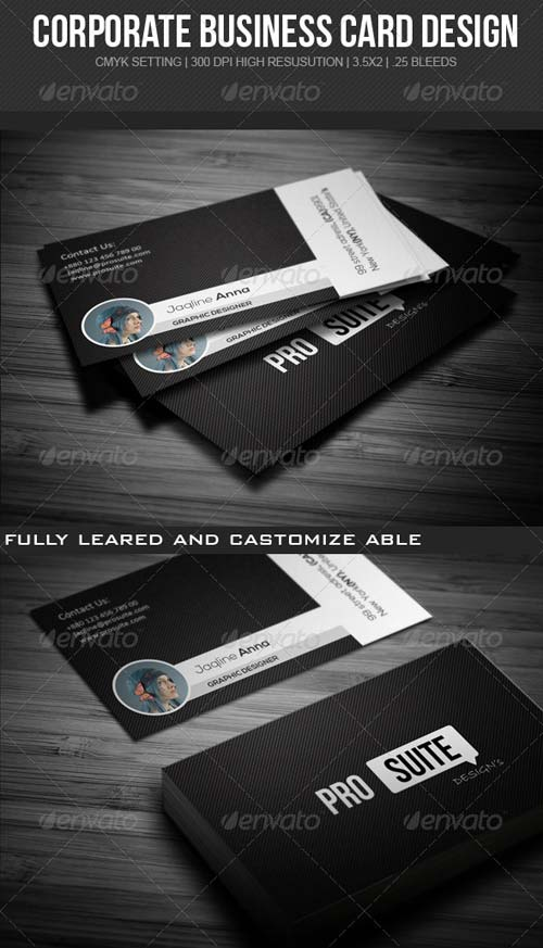 GraphicRiver Prosuite Corporate Business Card