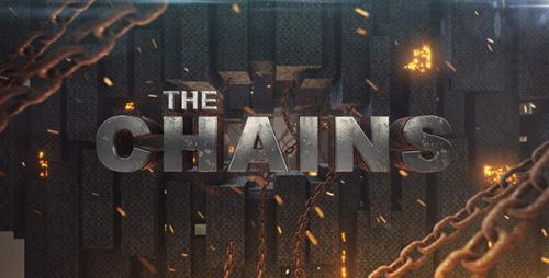 Chains Element 3D Title Sequence - After Effects Project (Videohive)