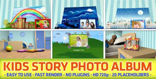 Kids Story Photo Album - After Effects Project (Videohive)