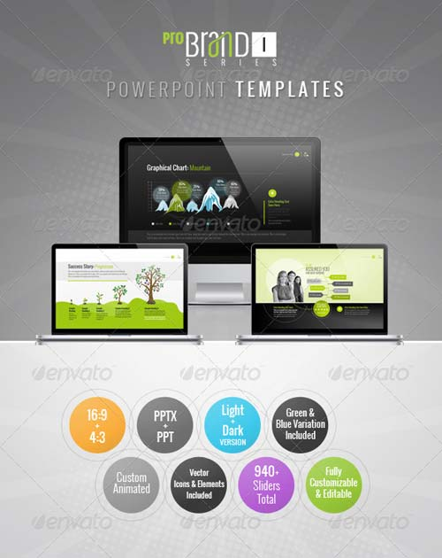 GraphicRiver ProBrand PowerPoint Templates
