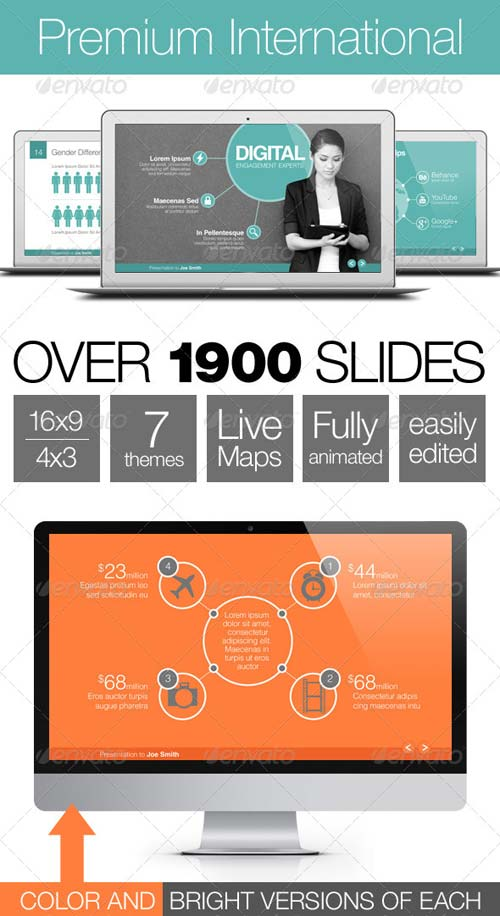 GraphicRiver Premium International Template System