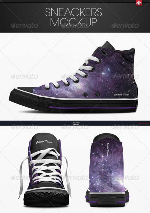 GraphicRiver Sneakers Mock-up