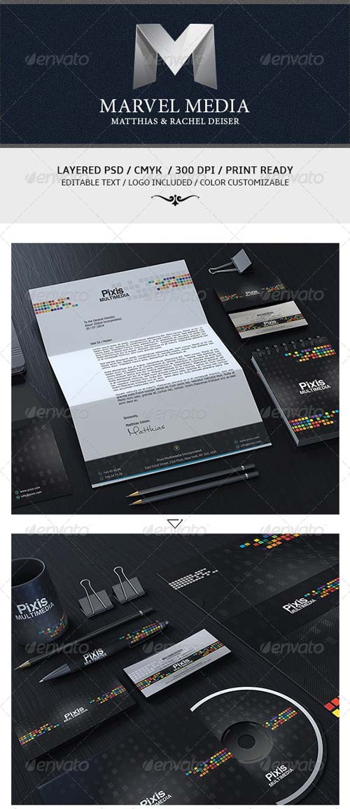 GraphicRiver Modern Creative Corporate Identity