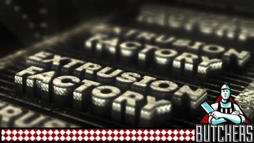 Extrusion Factory - After Effects Project (Videohive)