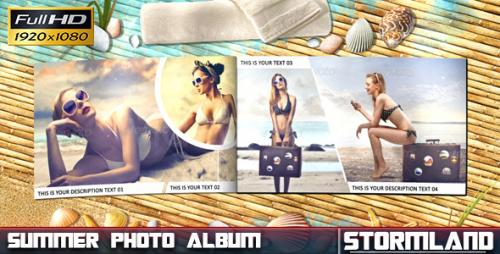 Summer Photo Album - After Effects Project (Videohive)