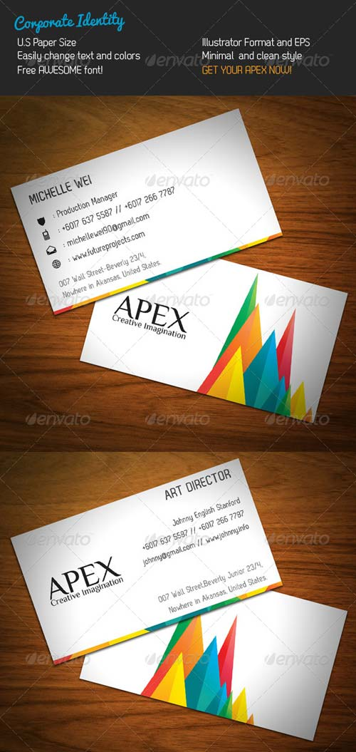 GraphicRiver Apex Corporate Identity