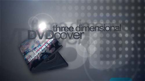 3D DVD cover mock-up - After Effects Project (Videohive)