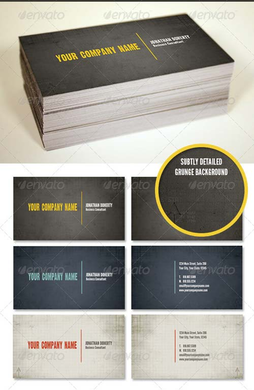 GraphicRiver Rubicon Business Card Template Set