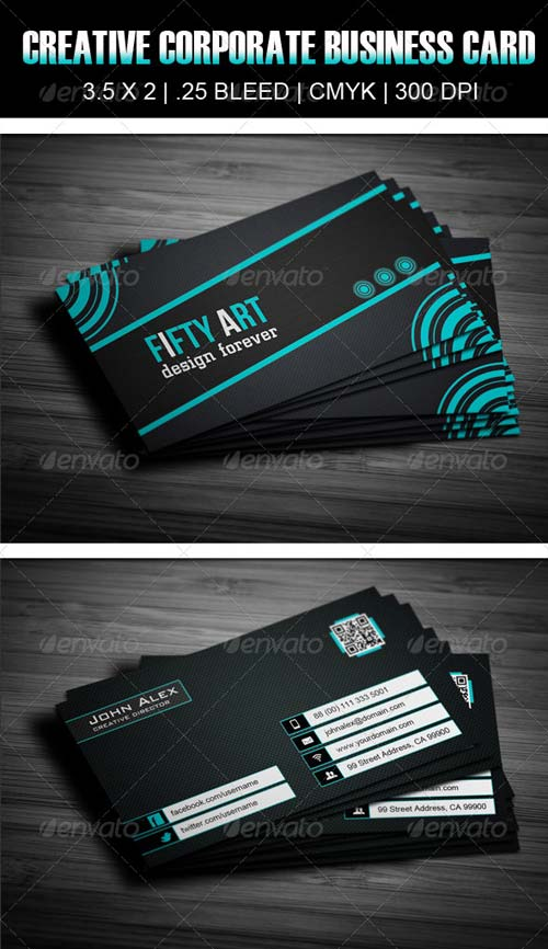 GraphicRiver Creative Corporate Business Card Design