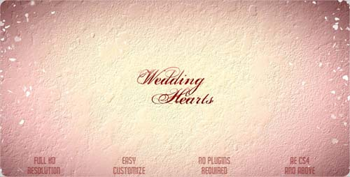 Wedding Hearts Slideshow - After Effects Projects (VideoHive)