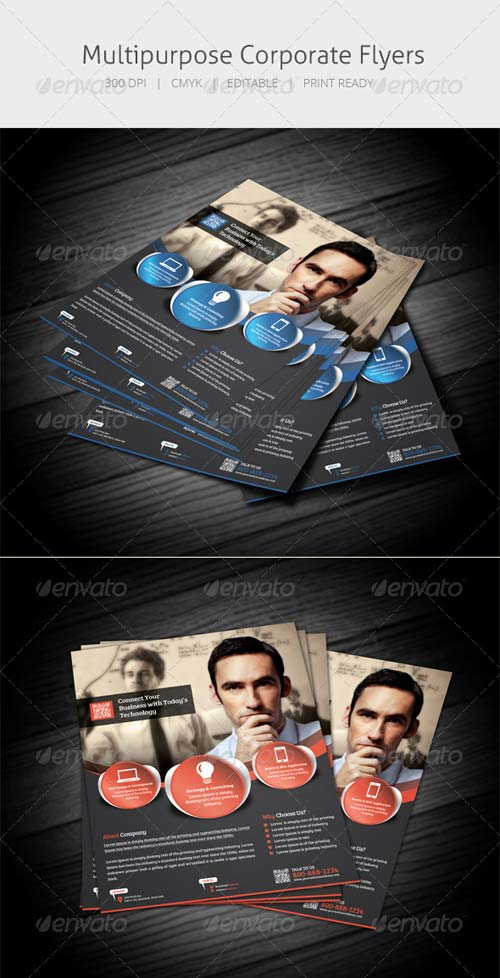 GraphicRiver Multipurpose Flyer IV