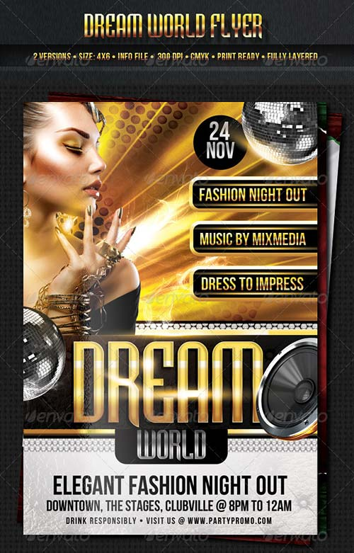 GraphicRiver Dream World Flyer Template