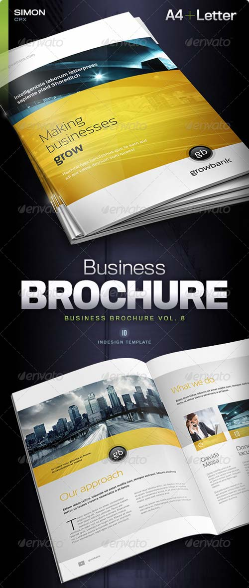 GraphicRiver Business Brochure Vol. 8