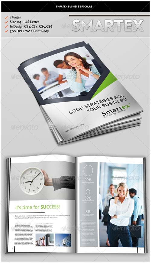 GraphicRiver Smartex Business Brochure