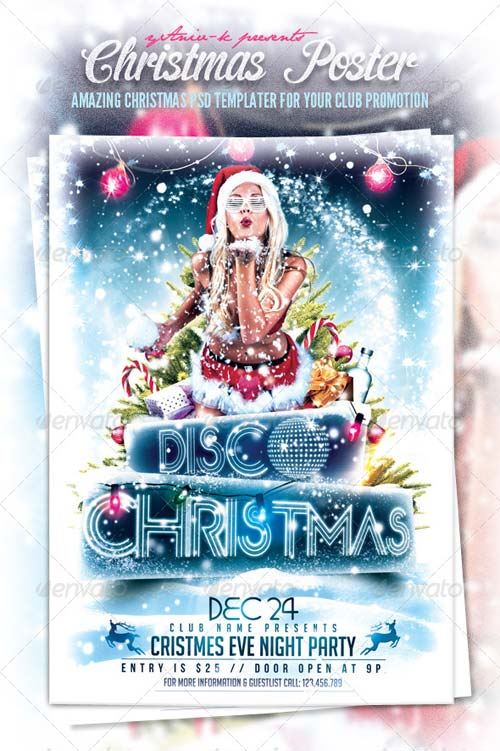 GraphicRiver Christmas Event Flyer Template