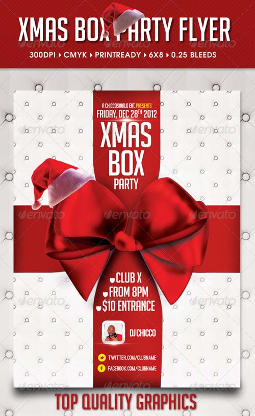 GraphicRiver Xmas Box Flyer Template