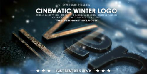 Cinematic Winter Logo - After Effects Project (Videohive)