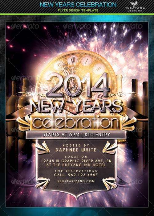 GraphicRiver New Years Celebration