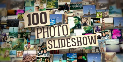 100 Photo Slide Show - After Effects Project (Videohive)