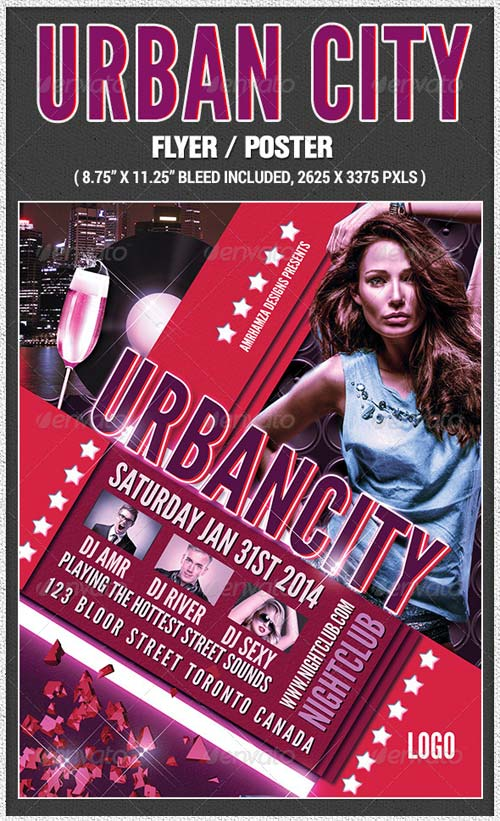 GraphicRiver Urban City Poster
