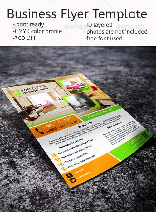 GraphicRiver Business Flyer Template-02