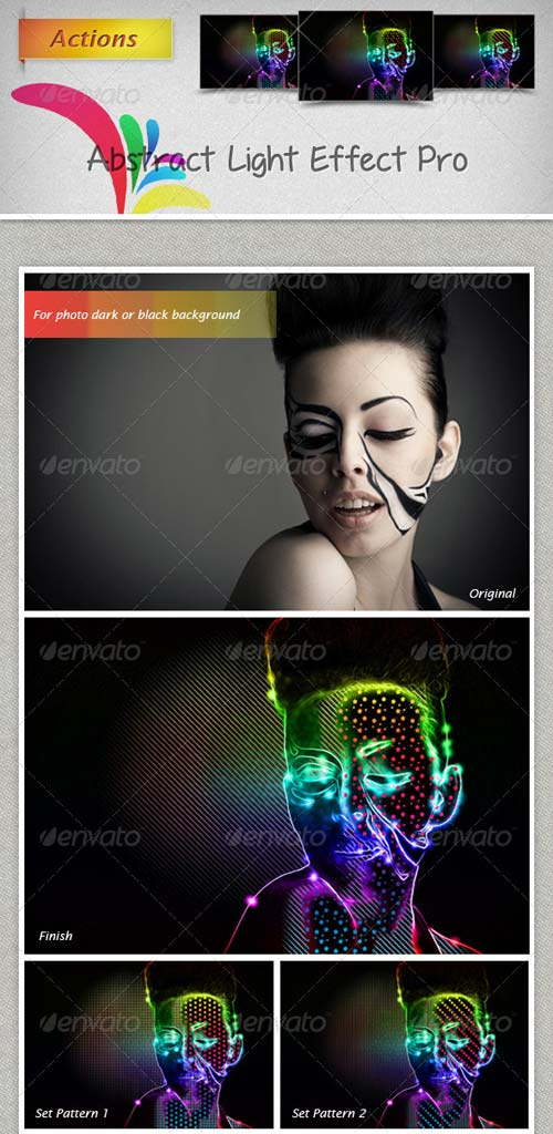 GraphicRiver Abstract Light Effect Pro Actions