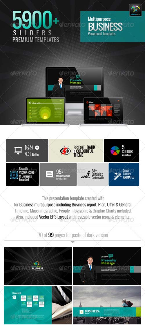 GraphicRiver MultiEco Business Template