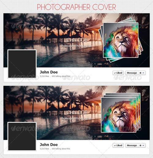 GraphicRiver Photographer Cover