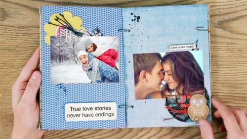 Love Story Album - After Effects Project (Videohive)