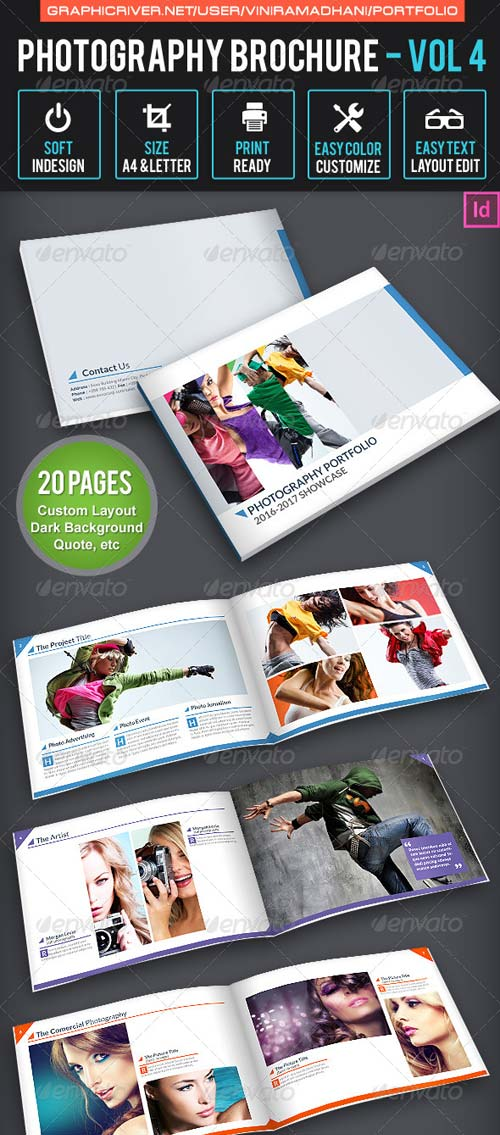 GraphicRiver Photography Brochure | Volume 4