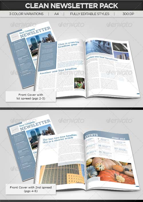 GraphicRiver Simple Newsletter Template